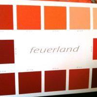 Themenwelt Feuerland für Dekowand