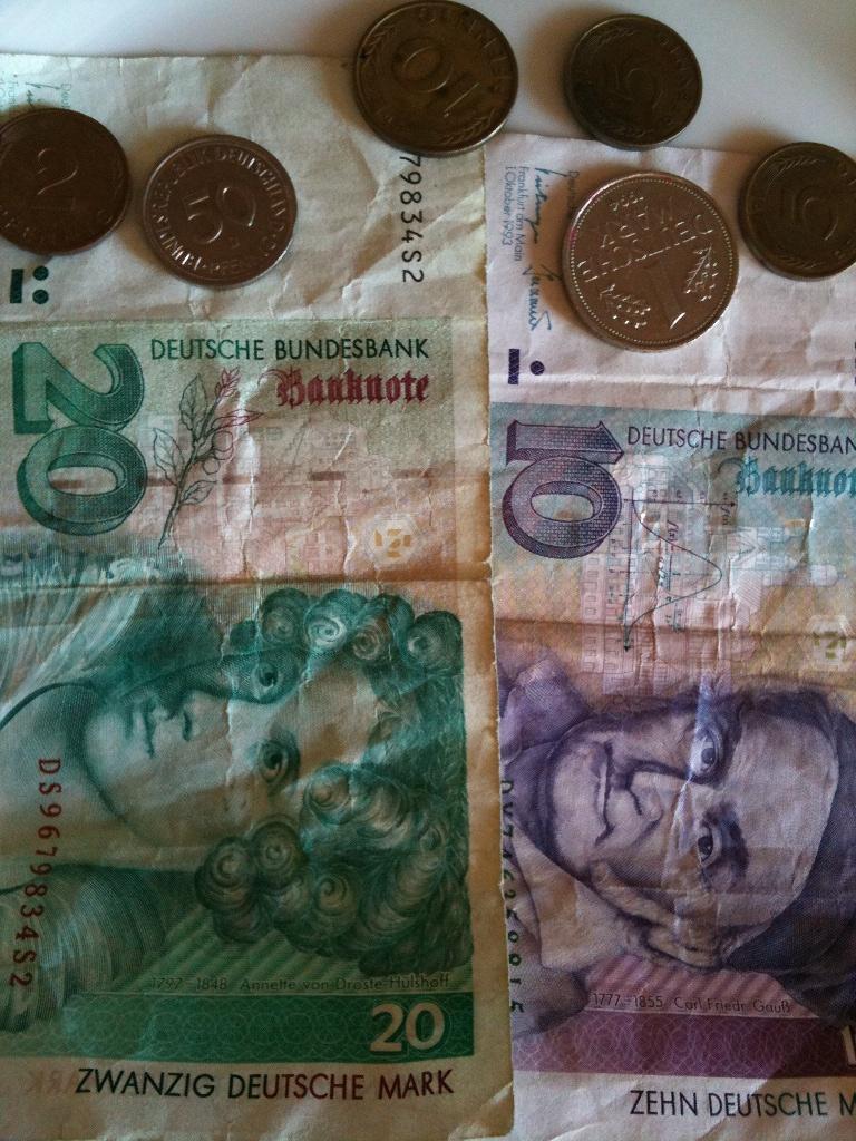 Es war einmal die Deutsche Mark