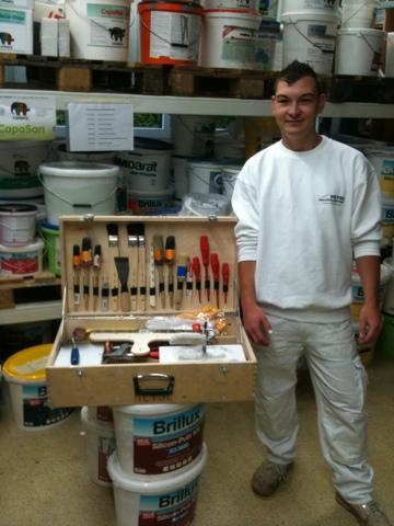 Beginn der Ausbildung für Andreas Sekinger