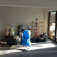 Saubere Baustelle