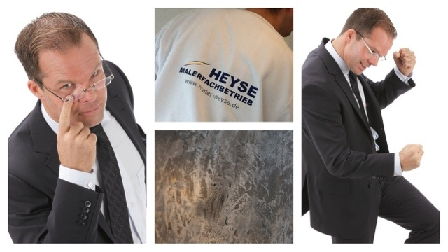 Maler mit Anzug - Dynamit 3.0