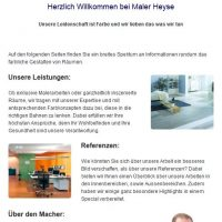 Facebook-Fanpage Maler HEYSE