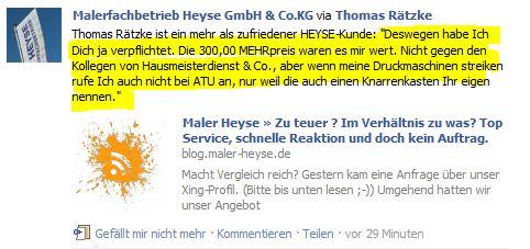 Kundenreferenz 2 Facebook 10.02.2012