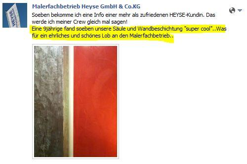 Kundenreferenz Facebook 10.02.2012