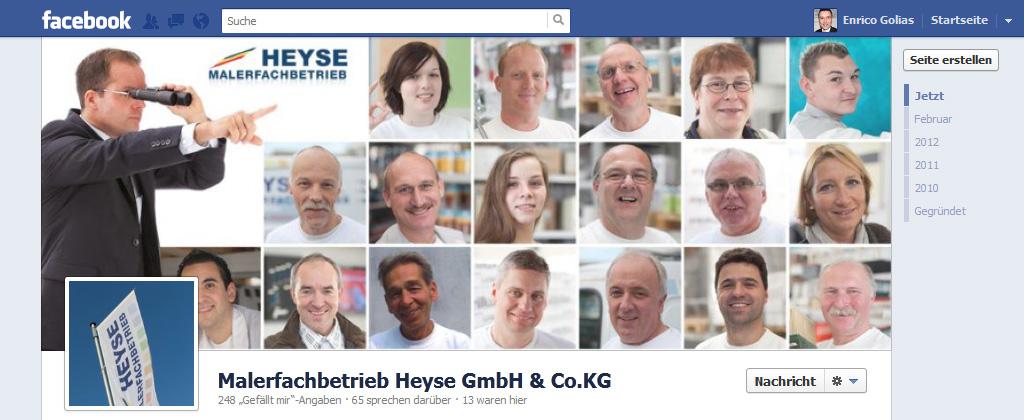 facebook chronik für seiten optimal nutzen, facebook chronik fanpage, facebook chronik Titelbild, Unternehmenspräsentation Facebook Chronik