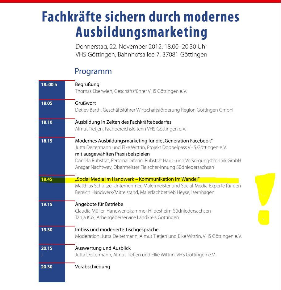 """""""Fachkräfte sichern durch modernes Ausbildungsmarketing"""" - Seite 2"""