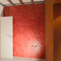 Vorraum WC Herren und WC-Damen - Rostoptik und Volimea