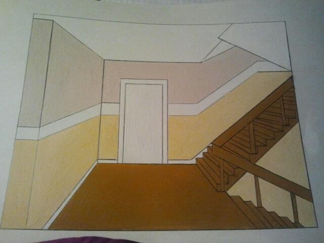 zwischenpr fung f r maler 3 ausbildungsjahr jana bredemeier vom maler heyse pr sentiert ergebnis. Black Bedroom Furniture Sets. Home Design Ideas