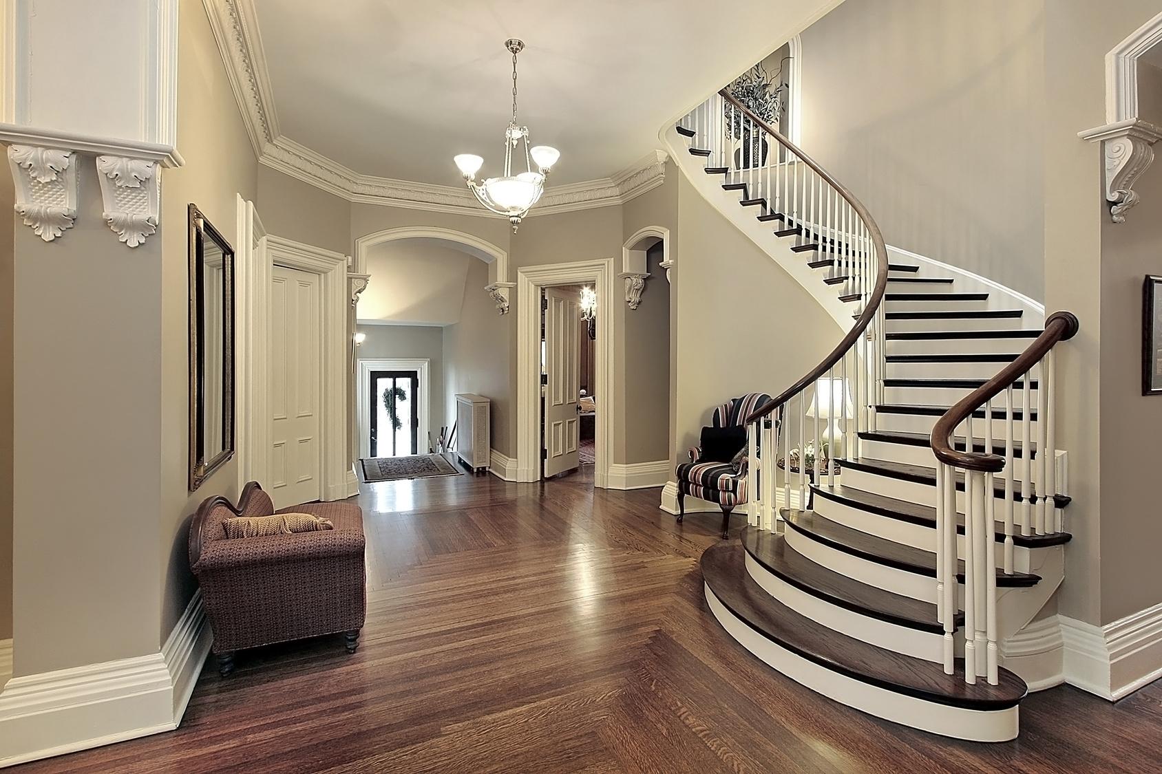 treppenhaus streichen vom stiefkind zum besucherliebling mein. Black Bedroom Furniture Sets. Home Design Ideas