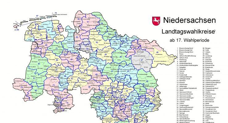 Wahlkreise Niedersachsen