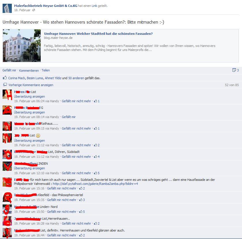 Umfrage Stadtteile Fassaden-Facebook