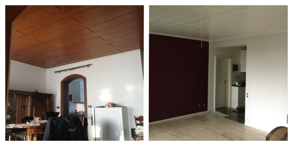 esszimmer vorher nachher meinmaler partner. Black Bedroom Furniture Sets. Home Design Ideas