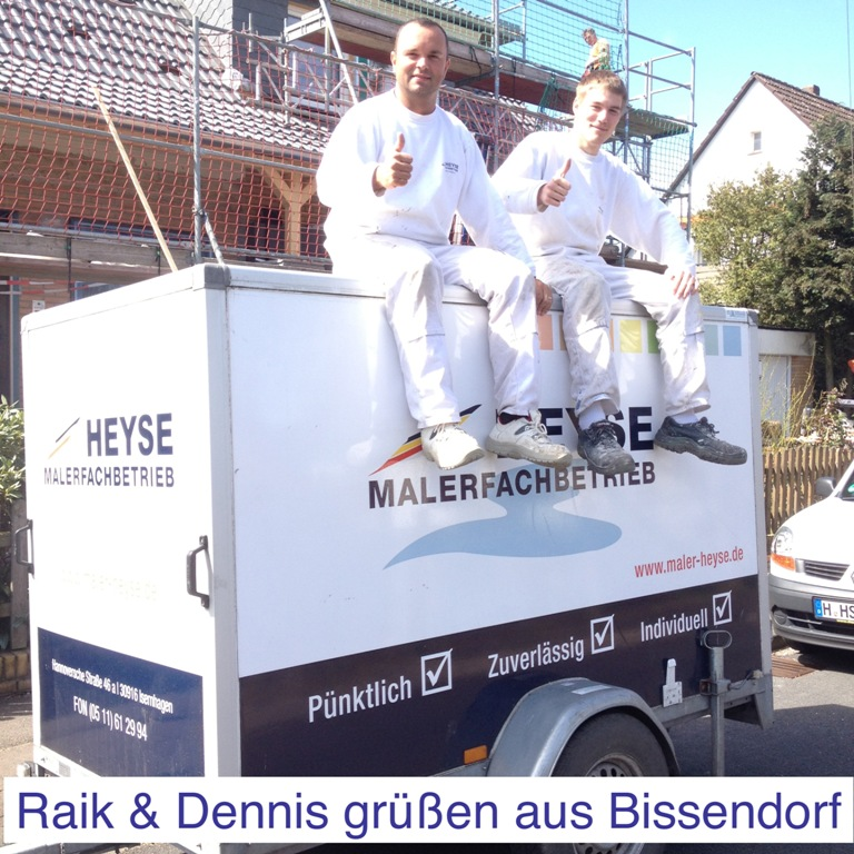Wärmedämmung Hannover - Maler Heyse Team Raik Trabhardt und Dennis Scheinert