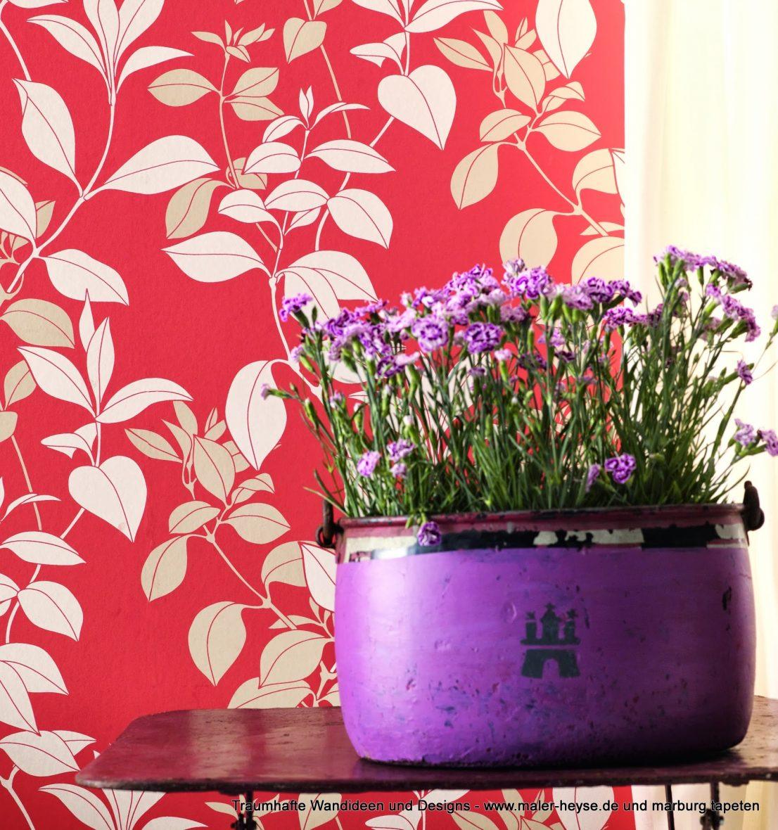 Wir Lieben Tapeten   Florales, Farbe, Style, Lifestyle, Impressionen,  Raumideen