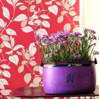 Wir lieben Tapeten - florales, Farbe, Style, Lifestyle, Impressionen, Raumideen