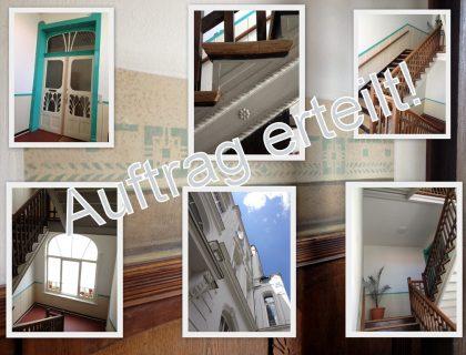 treppenhaus renovieren wir haben die ideen meinmaler. Black Bedroom Furniture Sets. Home Design Ideas