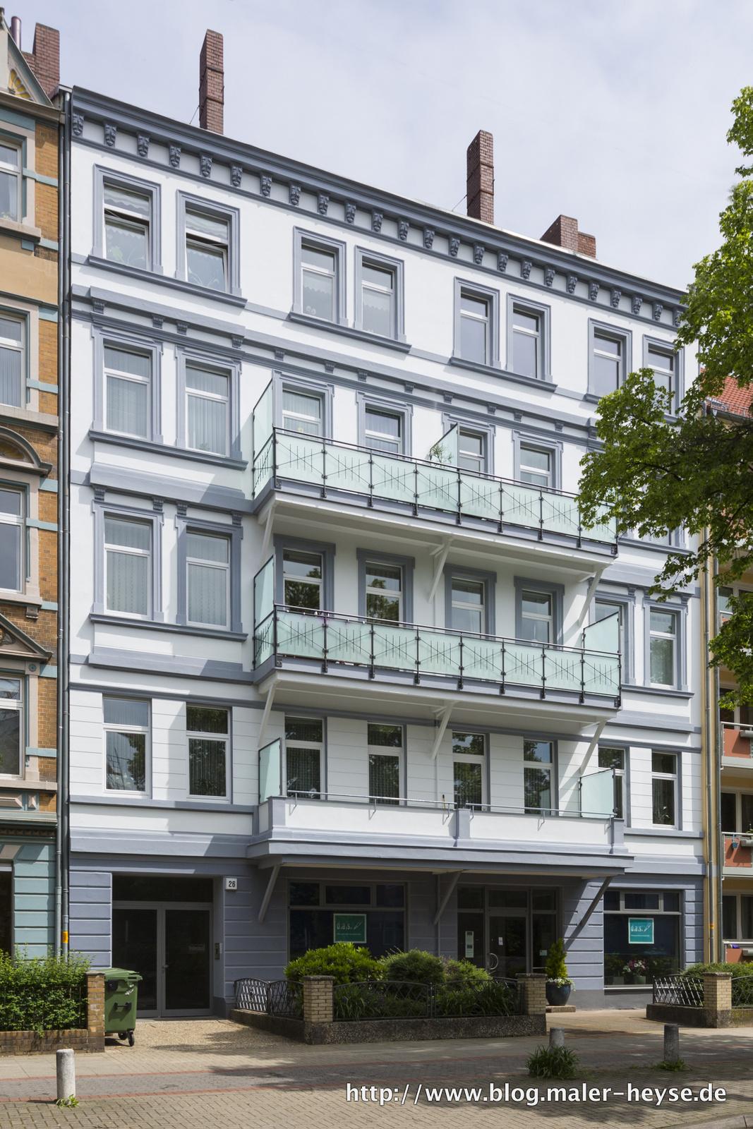 Fassade umfangreich saniert