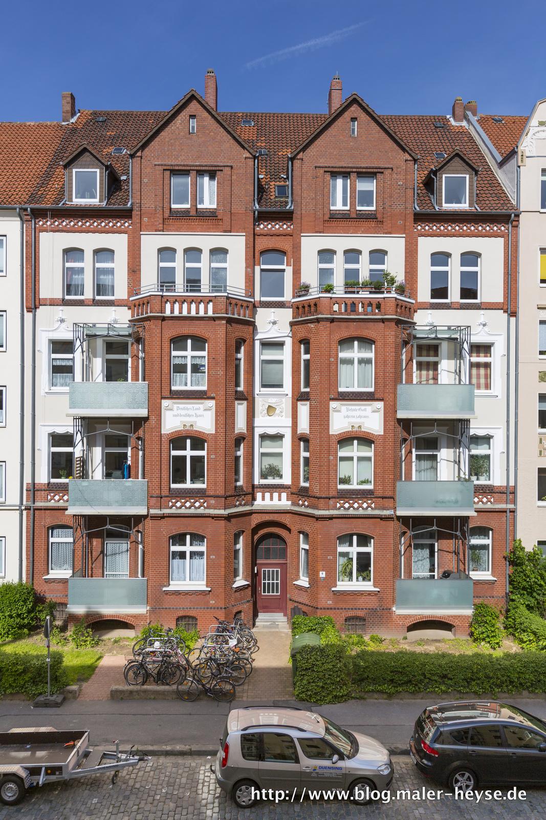 Sanierung Fassade Hannover