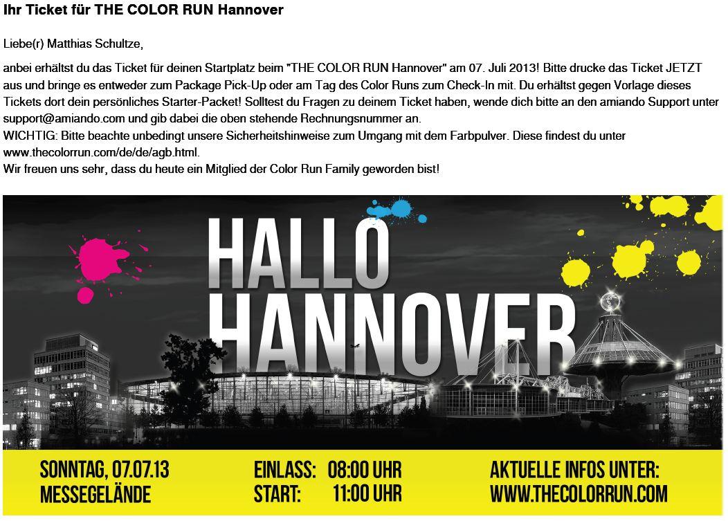Colourrun Hannover