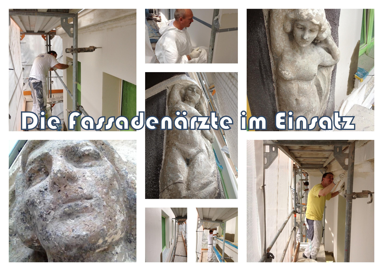 Fassadensanierung - Malerarbeiten Maler Heyse Hannover