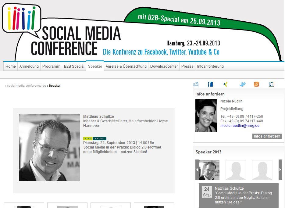 Social Media Conference 2013