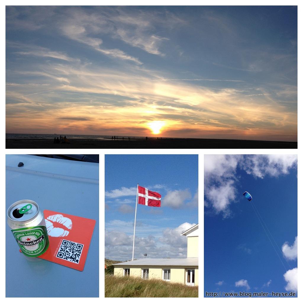 Sommerurlaub auf Fanö Dänemark