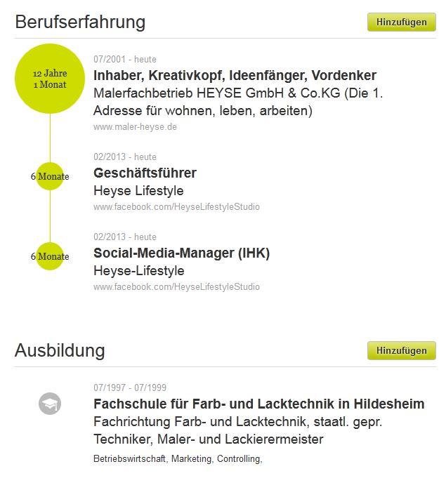 Neues Xing-Profil - Matthias Schultze
