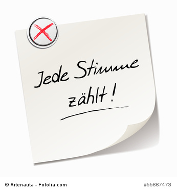 Bundetagswahl 2013 - Du stimmst ab!
