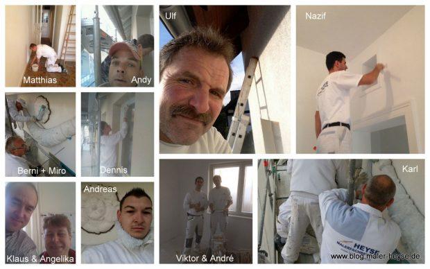 Maler Heyse - das Team grüsst Sie