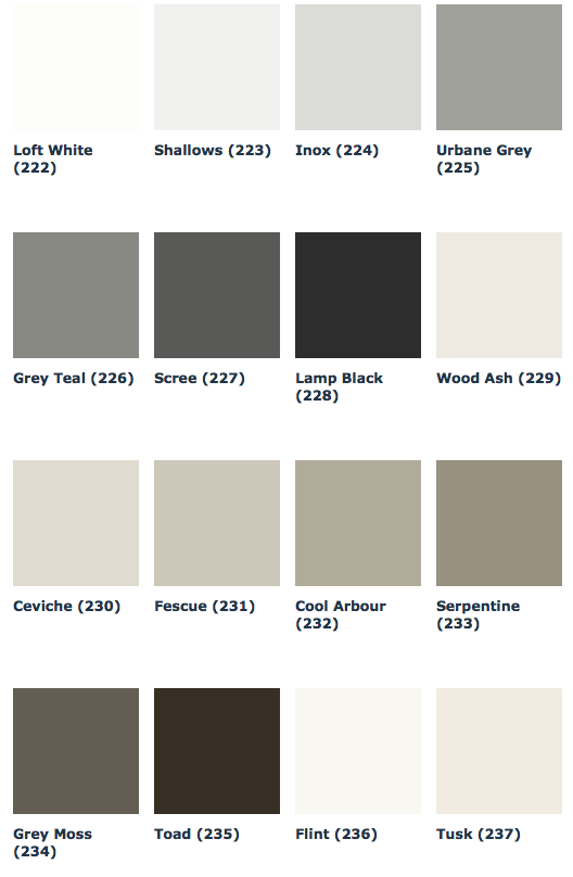 Neue Grautone Von Little Greene Grey Collection Fur Stilvolles