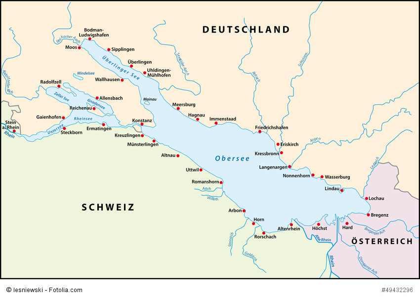 Bodensee Überblick - Radweg