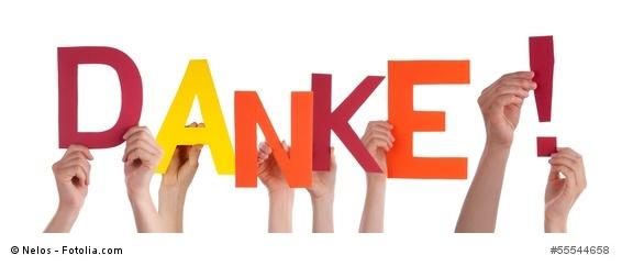 DANKE - Hands Holding Danke