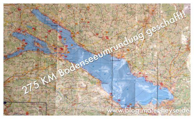 Bodenseetour - Mit dem Fahrrad unterwegs