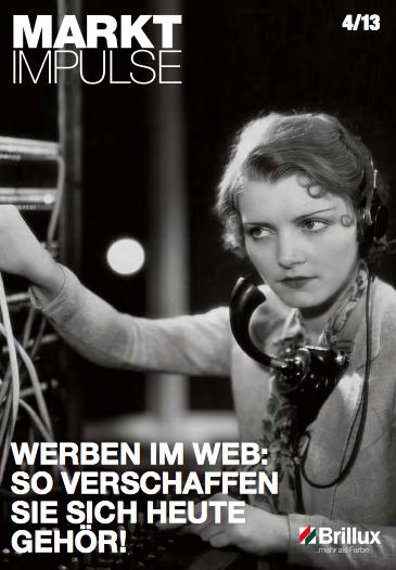 Werben im Web. So verschaffen Sie sich heute Gehör. Matthias Schultze vom Malerfachbetrieb Heyse berichtet ausführlich