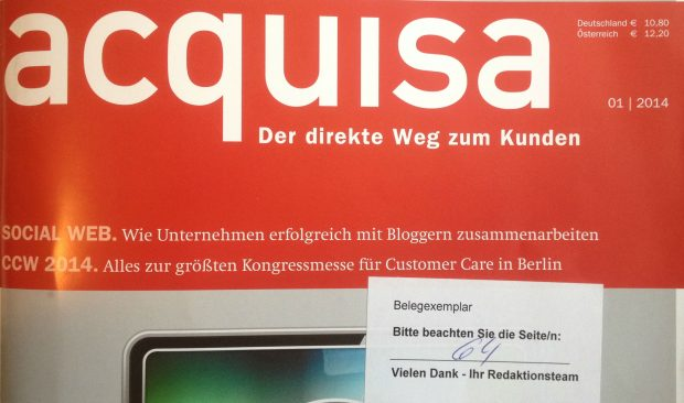 aquisa - der direkte Weg zum Kunden