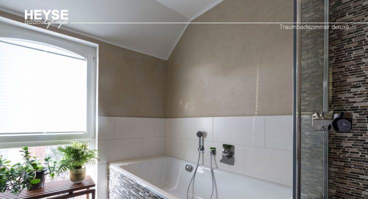 Wandflächen mit Volimea veredelt