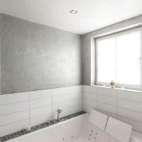 Wandgestaltung im Bad