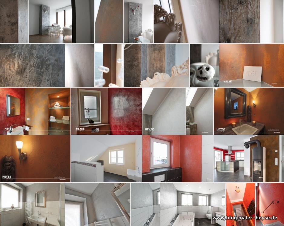 Gestaltungen für Innenräume - Maler Hannover