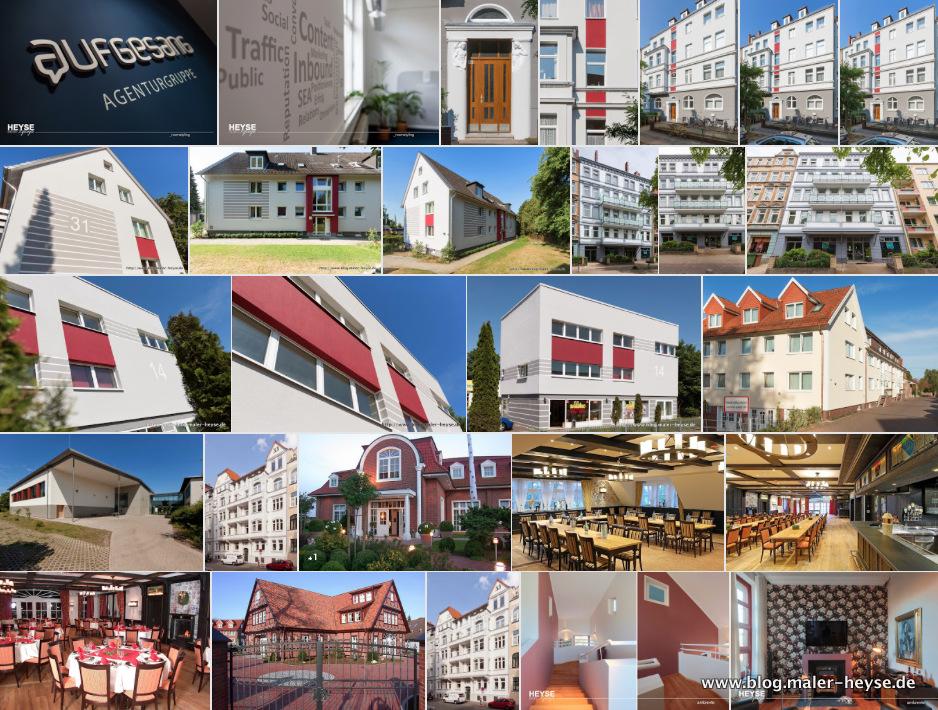 Gestaltungen für Fassaden - Maler Hannover
