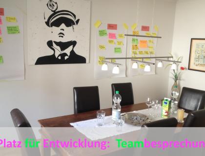 Teamleiterbesprechung - Wir lassen uns coachen
