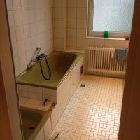 Badrenovierung - Bad vorher