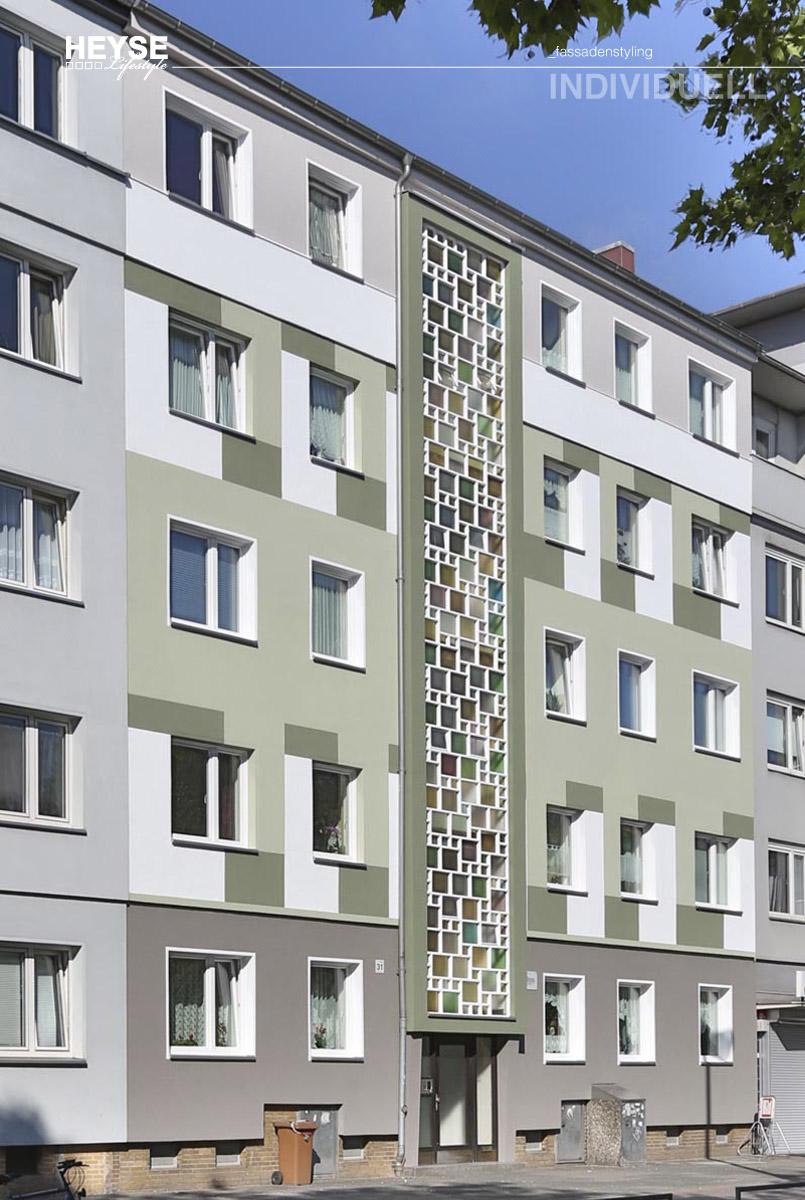 Fassadenanstrich mal anders - vom Maler HEYSE