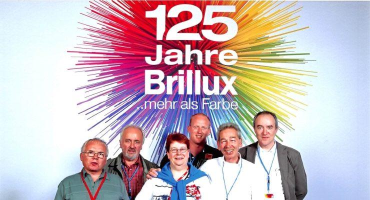 Maler HEYSE bedankt sich für die großartige Feier zum 125. Jubiläum der Fa. Brillux