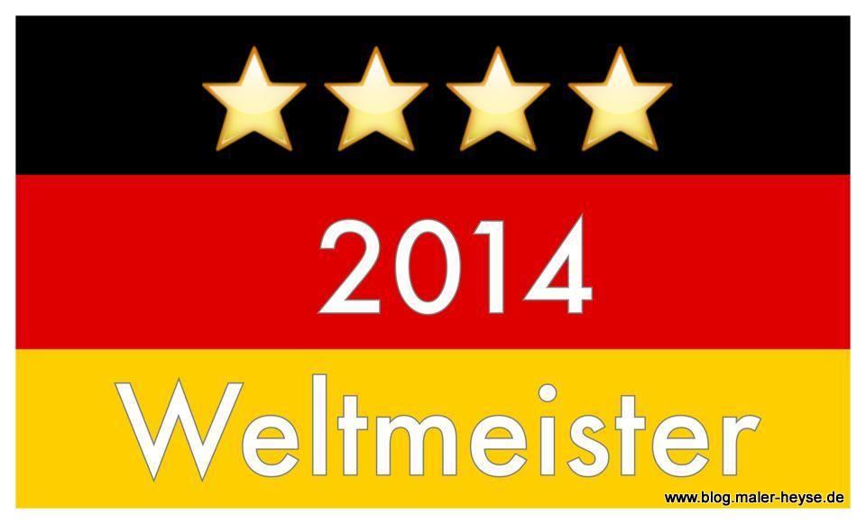 Deutschland holt sich nach 54, 74 und 90 nun den 4. Weltmeistertitel - Willkommen zu Hause