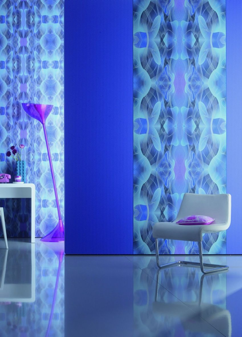 karim rashid tapetenkollektion globalove meinmaler partner. Black Bedroom Furniture Sets. Home Design Ideas
