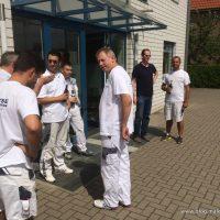 Eintreffen der aktuellen Crew von Ralf Prager