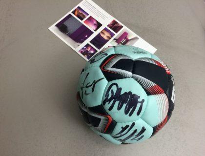 Recken-Autogrammball 2014 - Handball Hannover