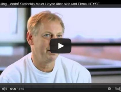 Storytelling - André Stafeckis vom Maler Hannover erzählt seine persönliche Geschichte.
