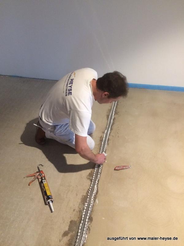 Badausstellung Hannover fugenloser boden designboden spachtelboden betonoptik meinmaler partner