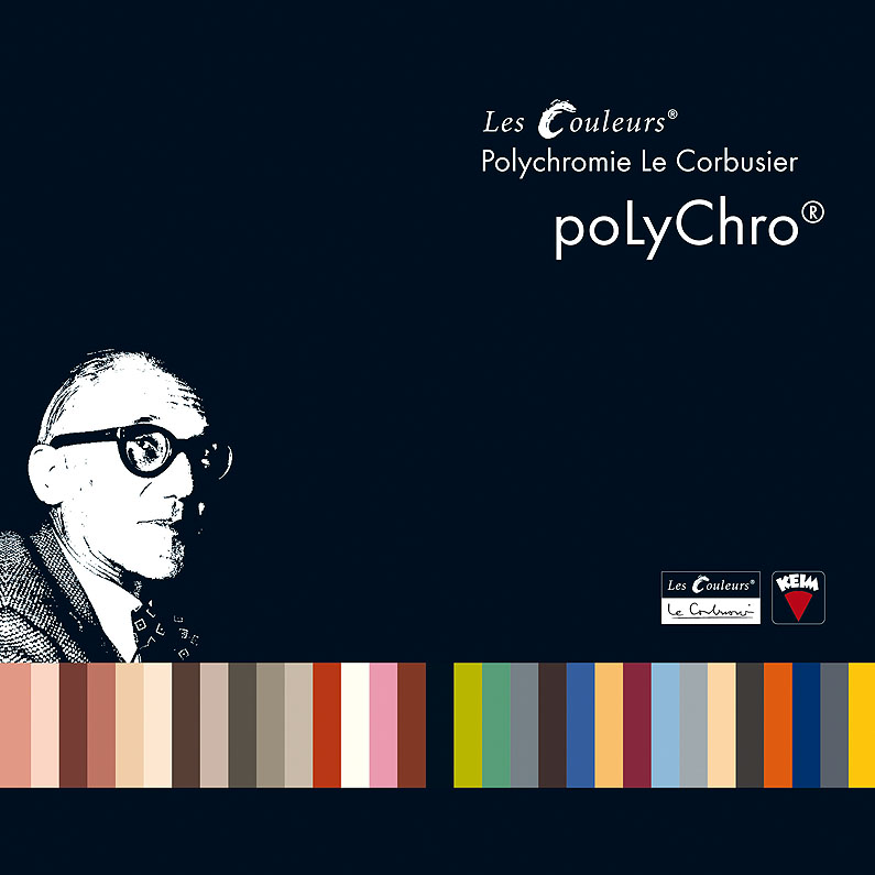 les couleurs le corbusier by keim polychro macht farbe zum erlebnis. Black Bedroom Furniture Sets. Home Design Ideas